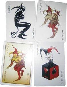 Batman The Dark Knight Joker Playing Cards: Amazon.com: Clothing