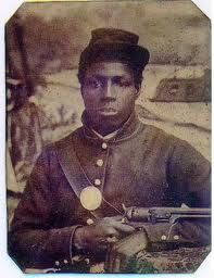 Black Civil War soldier  Yes, we did fight in the Civil War!