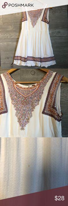 b501cbb72380d Free People White Pattern Dress Size S Free People White Pattern Dress Size  S 🔹 Pit