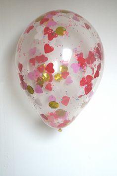Consejo Airedefiesta.com : mete confeti en globos transparentes