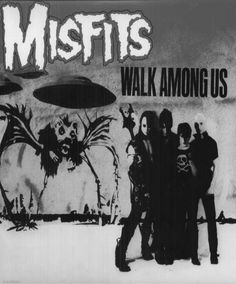 The Misfits ✝ Are  A American Punk Rock Band Often recognised as the progenitors of the horror punk sub-genre, blending punk rock and other musical influences with horror film themes and imagery. Fou…