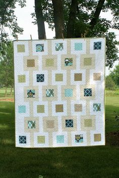 So, this one's been a long time coming. I posted about the completed top in October, and the quilting was finished by the end of January. All it needed was binding, and I could cross another …