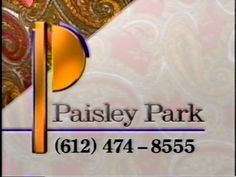 "PRINCE'S PAISLEY PARK ESTATE AD FROM 1991 IS INSANE ""Paisley Park Studio"""