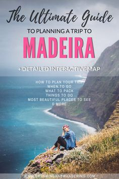 Madeira Travel Tips: The Ultimate Guide to Planning a Trip to Madeira Planning a trip to Madeira? Here are my personal recommendations on how to plan your trip, the best places to stay, and things to do. Click to learn more. #Madeira #Europe