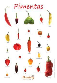 Poster Pimentas