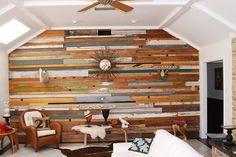 Pareti in legno di design n.11