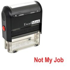 Self-Inking Novelty Message Stamp - NOT MY JOB - Red Ink ExcelMark,http://www.amazon.com/dp/B009SQQB6O/ref=cm_sw_r_pi_dp_W07nsb1Z33HT930G