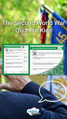 Looking for ways to help your child with their homework? Ask your child to read through the Second World War Homework Help guide (accessible via the QR Code). See what they've learnt by taking the quiz and checking their answers using the answer sheet at the end. Follow the link to try this quiz today! Quizzes For Kids, Major Events, World War Two, Homework, Two By Two, Encouragement, Knowledge, Coding, This Or That Questions
