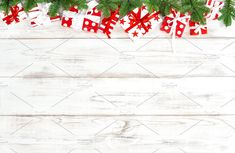 Gift boxes Christmas decoration by LiliGraphie on @creativemarket