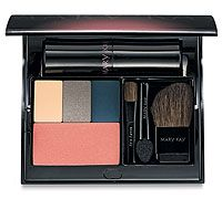 This Compact from Mary Kay makes it so easy to take your color cosmetics in your purse for touch ups throughout the day!  Also great for travel.