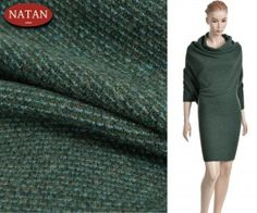 Strikke trøjer nuancer af grønne og turkis