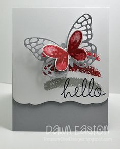 Happy Wednesday! Today I hope to spend a little time stamping :)I really do need to clean and organize my craft space but once I sit in my chair I just want to get inky! Here is another card I created