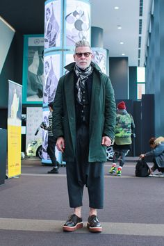 Nick Wooster || Streetstyle Inspiration for Men! #WORMLAND Men's Fashion