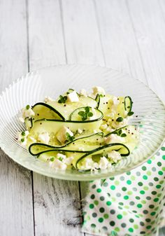 Cucumber Salad with Feta and Lemon Thyme