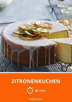 Zitronenkuchen - smarter - Zeit: 40 Min. | eatsmarter.de