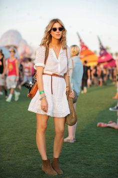 From boho chic to thrifted genius, the 50+ style snaps you need to see from Coachella. Photos by Mark Iantosca