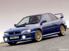 I used to be in love with Japanese cars (Not so much anymore...) But the late 1990's Subaru Impreza was one of my personal favorites, even named a pet fish after one.