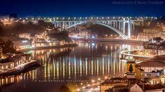 Porto e Vila Nova de Gaia, Portugal | © Nuno Trindade