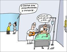 Acompanhamento médico...