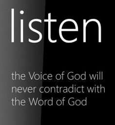 Voice+of+God | voice of God | Inspiration for Life
