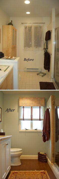 Before and After  20  Awesome Bathroom MakeoversBefore and After  20  Awesome Bathroom Makeovers   Moldings  . Remodeled Bathrooms Before And After. Home Design Ideas