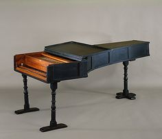 Bartolomeo Cristofori was the first person to create a successful hammer-action keyboard instrument and, accordingly, deserves to be credited as the inventor of the piano. This example is the oldest of the three extant pianos by Cristofori ~ 1720 Florence, Italy