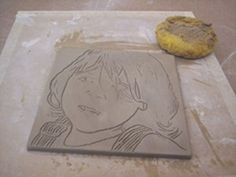 Ceramic Art Lesson Plan: Ink Transfers on Clay - Note to self order some washable markers
