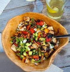 Summer Salads - including Grill Peach! Yum!