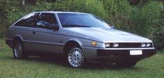 And the first car Nancy and I ever bought new together. An Isuzu Impulse with Lotus suspension. Fantastic car.