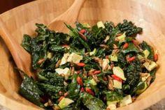 Daniella Martin's Crickety Kale Salad