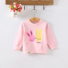 Cute Bunny, Hoodies, Sweatshirts, Cool Kids, Baby Kids, Kids Outfits, Long Sleeve Shirts, Graphic Sweatshirt, Sweaters