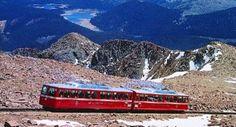 Train near 14,110 feet