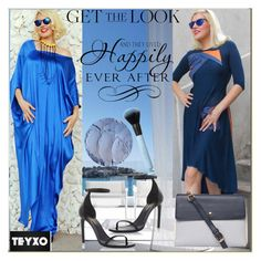 """""""Blue style,teyxo 13."""" by sajra-de ❤ liked on Polyvore featuring Folio, Yves Saint Laurent, Dorothy Perkins and WALL"""