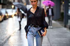 特別的攝衫技巧 怎樣將衣襬塞入褲中才是時尚的做法