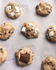 S'mores Chocolate Chip Cookies on @the_feedfeed https://thefeedfeed.com/immaculate-baking/gluten_freeeats/s-mores-chocolate-chip-cookies
