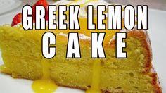 How To Make The Greek Lemon Cake