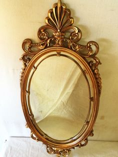 Vintage Table Top Mirror