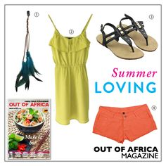 Get Shopping with OUT OF AFRICA: FEBRUARY Issue OUT NOW!  We all love summer so why not enjoy it to the fullest in these stylish items?  1. BOHO HAIR EXTENSIONS from $5 accessorise your hair with some summery style. Available at Glamourize. 2. H&M DRESS $15 soft and subtle this dress is lovely for a hot summer day. Available at The Factory Store. 3. ENZOLINI SANDALS $15 these versatile sandals work well with casual and semi-formal outfits. Available at The Factory Store. 4. RIP CURL MINI…