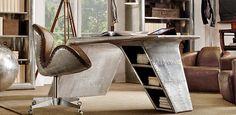 Home Office   Restoration Hardware