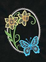 Butterfly Splendor Embroidery Designs