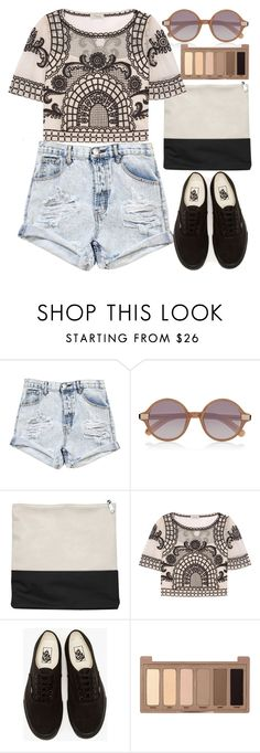 """""""BRAX"""" by krizan ❤ liked on Polyvore featuring One Teaspoon, Elizabeth and James, Temperley London, Vans and Urban Decay"""