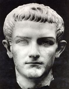 """Caligula(b.12-41AD): 3rd emperor of Rome(followed Tiberius Claudius Nero) who suffered a """"brain sickness"""" in AD37 and thus became crazy; c. 38 makes his horse a consular and gives him a marble stall; Goes to make Britania a Roman province, but after arriving, commands his men to, instead of fighting, collect seashells and parades them through Rome; Declares himself a god-king; Assassinated in 41 via his Praetorian Prefect(comparable to the head of the Secret Service)"""