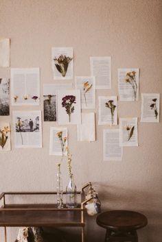 Sincerely, Kinsey: Floral Wall Art DIY