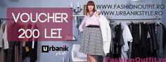 Concurs: Urbanikstyle si Fashionoutfit iti ofera un voucher de 200 ron