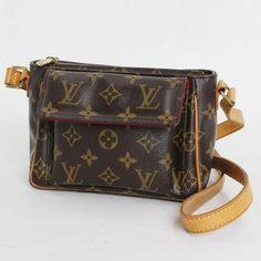 Louis Vuitton Viva Cite PM Monogram Cross body bags Brown Canvas M51165