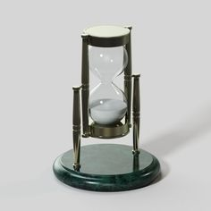 Brass and Marble Hourglass Free 3D Model .max .c4d .obj .3ds .fbx .lwo .stl @3DExport.com by 0legangster