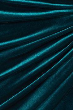 Alexandre Vauthier | Ruched stretch-velvet mini dress | NET-A-PORTER.COM Snapchat Stickers, Alexandre Vauthier, Aquazzura, Minimalist Fashion, Velvet, Teal, Turquoise, Wrap Dresses, Nye
