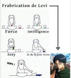 Comment fabriquer Levi en cinq... Non quatre étapes
