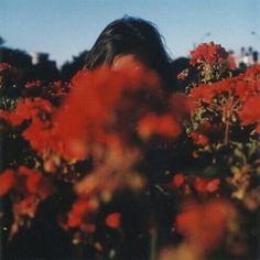 flowery flowers red