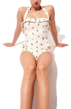 Adorable Retro Swimsuit by Marc Jacobs
